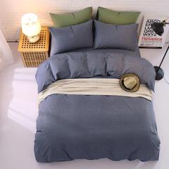 水洗棉四件套无印简约风日式套件 1.5m(5英尺)床 夏塔瓦