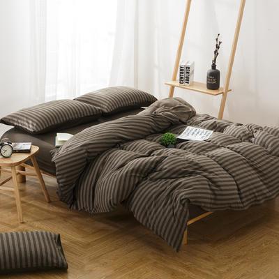 针织棉四件套新品卡尔玛 1.5m(5英尺)床 卡尔玛