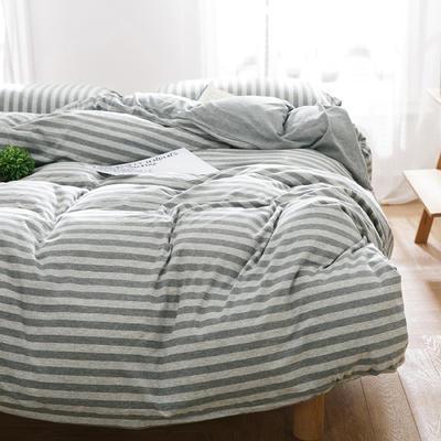 针织棉四件套新品泽尼娅 1.5m(5英尺)床 泽尼娅