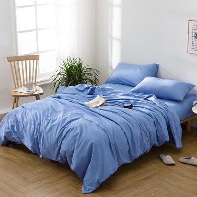 水洗棉四件套——夏普 1.5m(5英尺)床 夏普