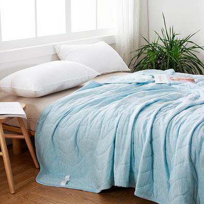 莫代尔夏被---蓝 200X230cm 蓝色