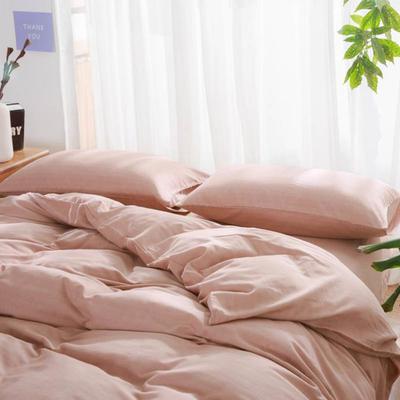 人字棉--藕粉 1.8m(6英尺)床 藕粉