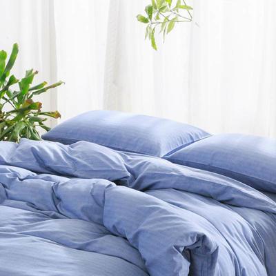 人字棉---湛蓝 1.8m(6英尺)床 湛蓝