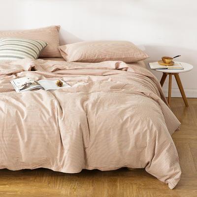 水洗棉四件套---贝尔西 1.5m(5英尺)床 贝尔西