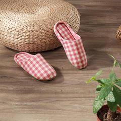 水洗棉家居拖鞋—粉红女款 37-38 粉红女款