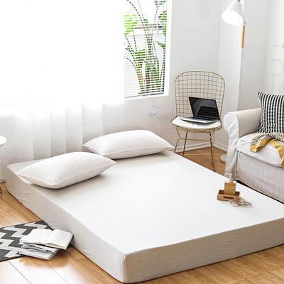 新款单床笠—莫林-米黄 180cmx200cm 莫林-米黄