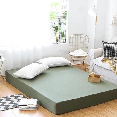 新款单床笠—烟草绿 180cmx200cm 烟草绿