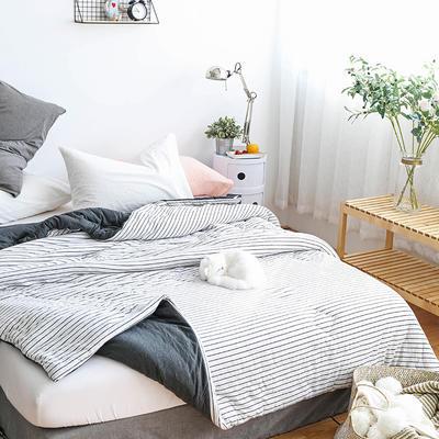 全棉针织棉冬被———雅白 150x200cm 雅白
