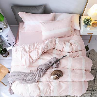 公主纱四件套 1.8m(6英尺)床 粉色