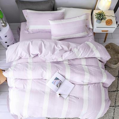公主纱四件套 1.8m(6英尺)床 紫色