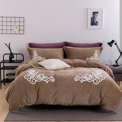 情迷欧典系列暖绒绒系列 1.8m(6英尺)床 情迷欧典-驼色