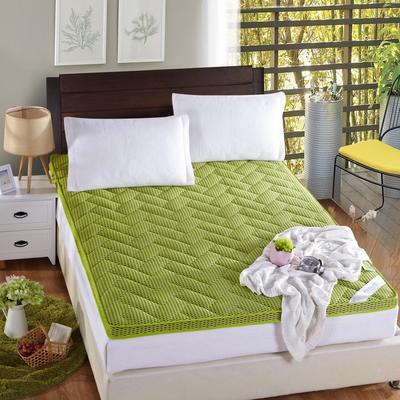 4D立体竹炭纤维床垫 0.9*2.0 绿色