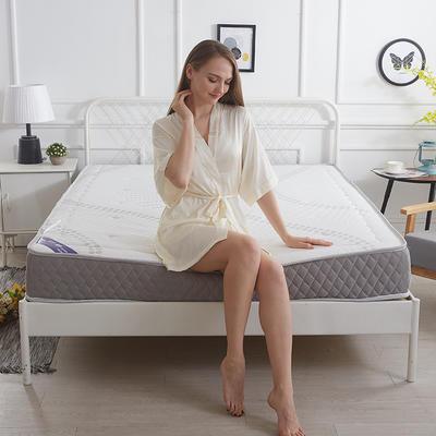 2017新款立体加厚针织网格(8厘米) 1.8*2.0 白色恋人