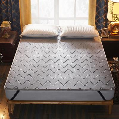 记忆棉床护垫 0.9*2.0 灰色