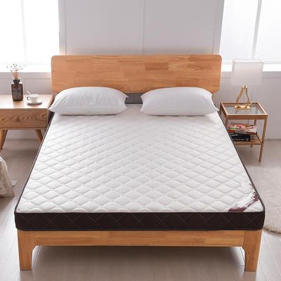 双面立体咖啡边床垫 0.9*1.9 白咖7厘米