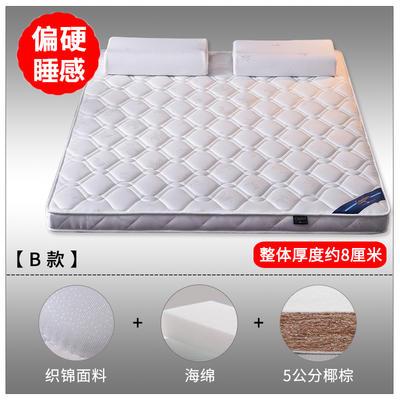 2019新款-3E环保椰棕乳胶床垫(场景2/S18-1) 0.9 S18-1/5公分椰棕(8cm)