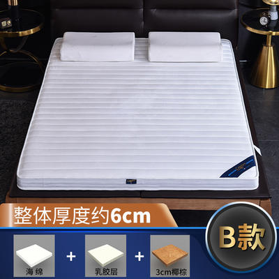2019新款-3E环保椰棕乳胶床垫-S09 0.9 3分棕+1分乳胶(6cm)