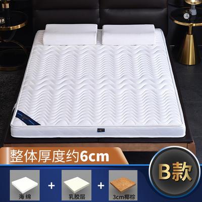 2019新款-3E环保椰棕乳胶床垫-S23-1 0.9 3分棕+1分乳胶(6cm)
