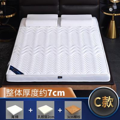 2019新款-3E环保椰棕乳胶床垫-S23-1 0.9 3分棕+2分乳胶(7cm)