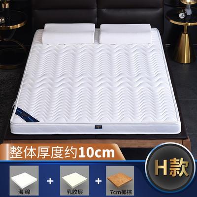 2019新款-3E环保椰棕乳胶床垫-S23-1 0.9 7分棕+1分乳胶(10cm)