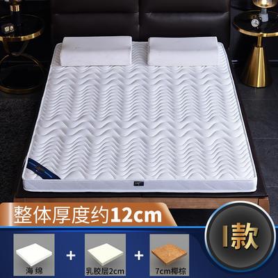 2019新款-3E环保椰棕乳胶床垫-S23-2 0.9 7分棕+2分乳胶(12cm)