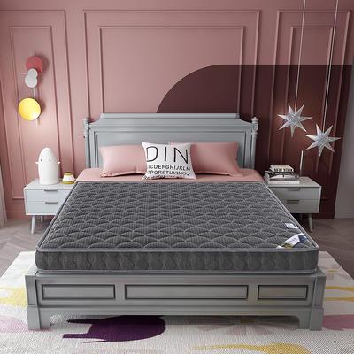 2020新款-乳胶记忆海绵床垫4D款 90*190 4D深灰 6cm厚