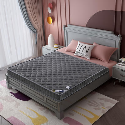 2020新款-乳胶记忆海绵床垫4D款 90*190 4D深灰 10cm厚