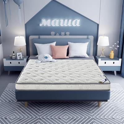 2020新款-乳胶记忆海绵床垫针织小熊款 90*190 小熊灰6cm厚
