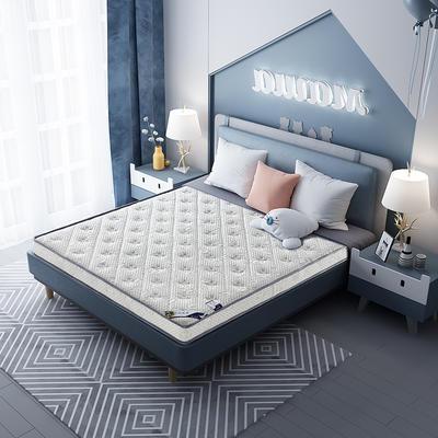 2020新款-乳胶记忆海绵床垫针织小熊款 90*190 小熊灰10cm厚