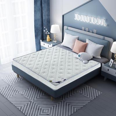 2020新款-乳胶记忆海绵床垫针织小熊款 90*190 小熊蓝10cm厚
