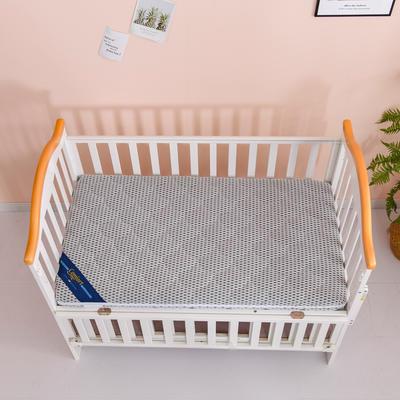 2020新款-婴儿棕垫(针织小熊/竹炭面料/4D面料) 56*100cm 4D浅灰3cm棕(整体约5cm)