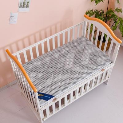 2020新款-婴儿棕垫(针织小熊/竹炭面料/4D面料) 56*100cm 4D浅灰3cm棕+2cm乳胶