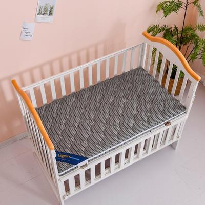 2020新款-婴儿棕垫(针织小熊/竹炭面料/4D面料) 56*100cm 4D深灰3cm棕(整体约5cm)