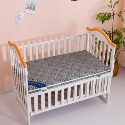 2020新款-婴儿棕垫(针织小熊/竹炭面料/4D面料) 56*100cm 4D深灰3cm棕+2cm乳胶