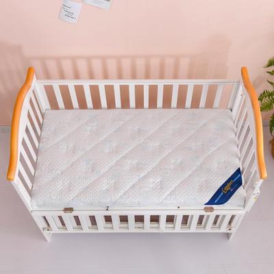 2020新款-婴儿棕垫(针织小熊/竹炭面料/4D面料) 56*100cm 小熊蓝3cm棕(整体约5cm)