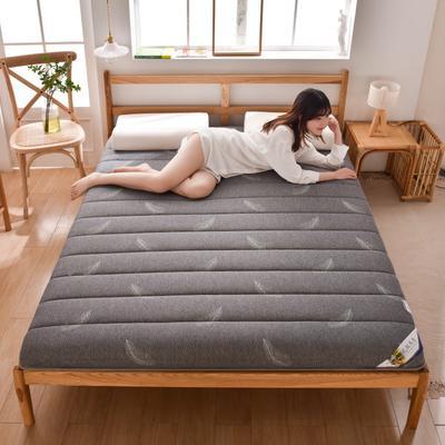 2020新款-單邊乳膠床墊 0.9m床 輕羽-灰6cm