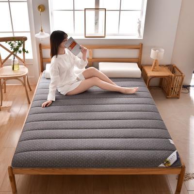 2020新款-單邊乳膠床墊 0.9m床 時尚灰6cm