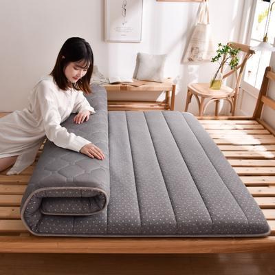 2020新款-單邊乳膠床墊 0.9m床 時尚灰10cm