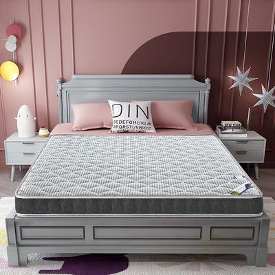2020新款-乳胶记忆海绵床垫4D款 90*190 4D浅灰 6cm厚