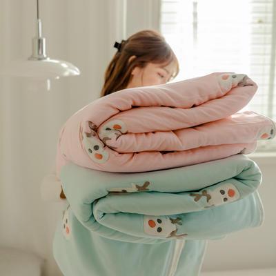 2021新款十层纯棉纱布毛巾被 110*110cm 小鹿兰
