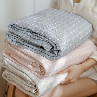 2021新款-水洗三层纱布毛巾被夏被夏凉被 150x200cm 丁格驼
