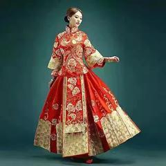 anglanbaby同款礼服 红色