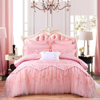 2020新款-婚庆多件套(总) 标准床单式四件套1.5m床-1.8m床 杜勒丽花园