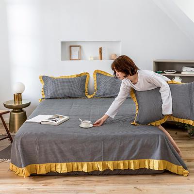 单品床单 180cmx230cm 百褶千鸟格