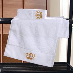 星级酒店全棉铂金段浴巾毛巾3件套皇冠 单毛巾