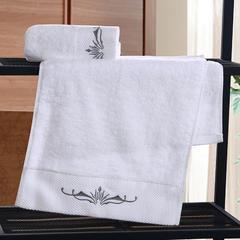 星级酒店全棉铂金段浴巾毛巾3件套魅影 单毛巾