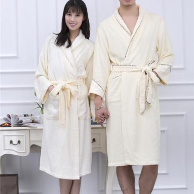 毛巾浴巾  竹纤维浴袍 均码 女款