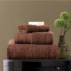 毛巾浴巾 素色印度棉系列 方巾35*35cm 发啡色
