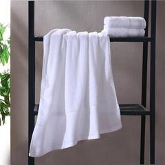 毛巾浴巾 素色印度棉系列 毛巾35*75cm 莹白