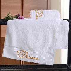 毛巾浴巾 五星酒店铂金锻系列毛浴巾 毛巾35*75cm 梦想